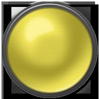 yellow on, yellow, button icon