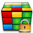 cube,lock,locked icon