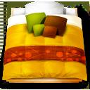 futon, bed icon