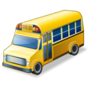 school, bus icon