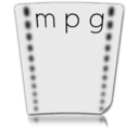 file,mpg,paper icon