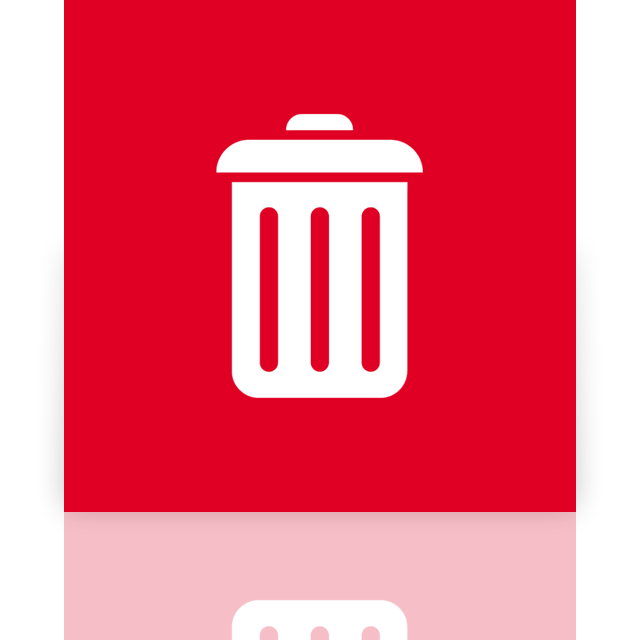 mirror, full, bin, recycle icon