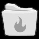 burn,folder,alt icon