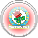 black brun rover, flag, premier english, football icon