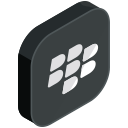 communication, blackberry, internet, network, social, online, media icon