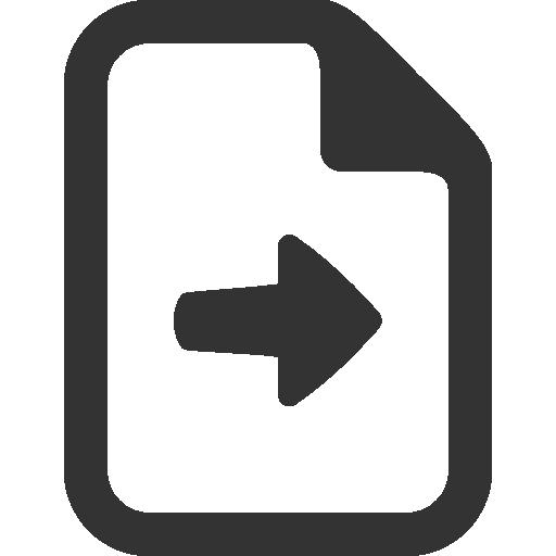 send, file icon
