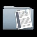 Folder Graphite Documents icon
