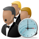 Choir, Clock, Music, Sing, Song, Time icon