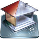 3d, Software icon