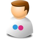 user,web,flickr icon