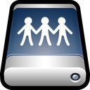 external, storage, drive, disk, sharepoint, usb icon