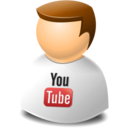 user,web,youtube icon