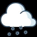 ice, snow, cloud, weather icon