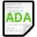 ada, file icon