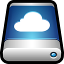 external, drive, cloud, icloud, storage, data icon
