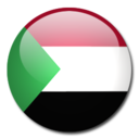 sudan,flag,country icon