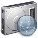 drive, file, server, paper, document, disconnected icon