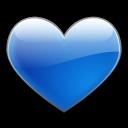 blue, favorite icon