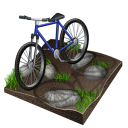 cycling, mountain, biking, px icon