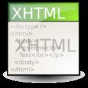 application, gnome, mime, xml, xhtml icon
