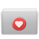 folder,favorite,graphite icon