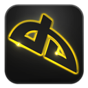 Deviantart, Glow, Neon icon
