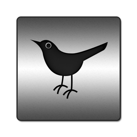 social network, sn, twitter, social, animal, bird icon