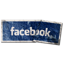 social, facebook, button, sn, social network, label icon