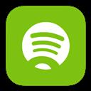 Alt, Metroui, Spotify icon