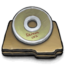 labeled,cd icon