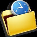 folder,timer icon