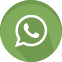 social, media, whatsapp, message, network, logo icon