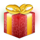 christmas, present, box, giftbox, gift icon