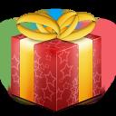 christmas, present, box, giftbox, gift icon
