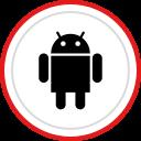brand, android, social, logo, media icon