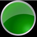 round, circle, green icon