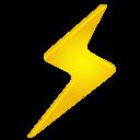 lightning,weather icon