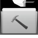 Folder Developer Graphite icon