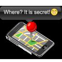 map, apple, iphone icon