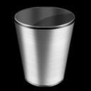 empty, trash, blank, recycle bin icon