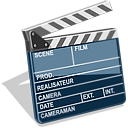 video, movie, film, scene icon
