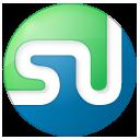 social, button, stumbleupon, color icon