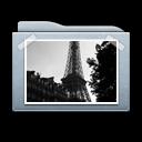 graphite, folder, photo, image, picture, pic icon