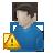 Alert, User, Warning icon