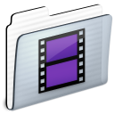 folder, video, movie, film icon