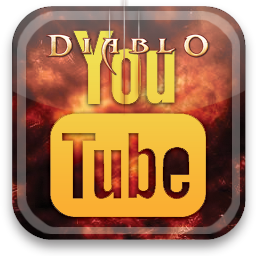 diablo, youtube icon