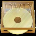 dvd, box icon