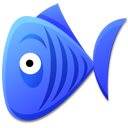 bluefish, cartoon icon