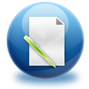 file, edit, writing, write, paper, document icon