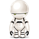 marvin, android, paranoid icon